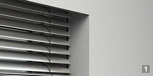 Raffstoren sind effektiver Sonnenschutz