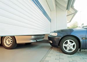 Platz auch vor der Garage nutzbar