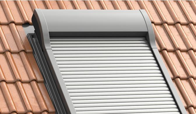 WERSO - Dachfenster-Rollladen mit Jalousiefunktion