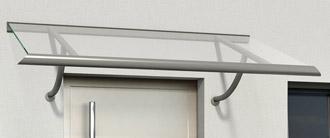 ARIANE® - Vordächer aus Aluminium verleihen Ihrem Hauseingang eine ganz individuelle Note