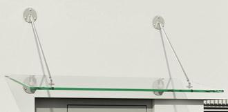 ARIANE® - hochwertige Vordächer aus Edelstahl sind absolut wetterfest
