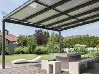 der perfekte Allwetterschutz für die Terrasse