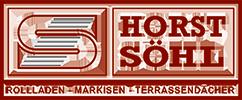 Horst Söhl , Sonnenschutz und Sicherheit Logo